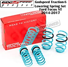 Godspeed (LS-TS-FD-0005) Traction-S Lowering Spring Set For Ford Focus ST 2011-2015 gsp set kit