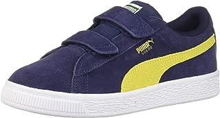 yellow velcro sneakers
