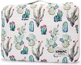 Kinmac Cactus 360° Protective Water Resistant 12 inch-13 inch Laptop Case Bag Sleeve with Handle for Surface Pro,MacBook P...