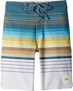 O'Neill Kids - Sandbar Cruzer Superfreak Boardshorts (Big Kids)