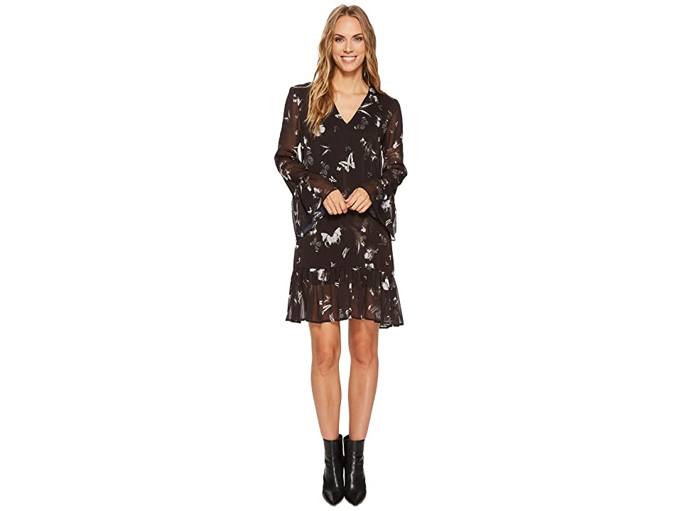 Religion Serene Dress (Jet Black) Women
