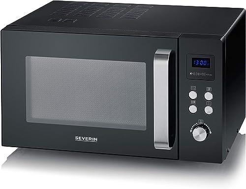 SEVERIN Solo MW 7756 Four à micro-ondes pour décongeler, cuire et chauffer avec plateau tournant pour une répartition...