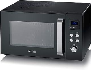 SEVERIN Solo MW 7756 Four à micro-ondes pour décongeler, cuire et chauffer avec plateau tournant pour une répartition homo...