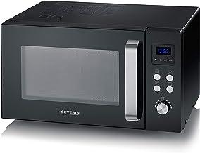 Severin MW 7756 - Microondas, 900 W, 25 L. Negro