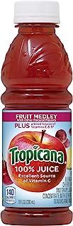 Tropicana Juice, Fruit Medley, 10 Fl Oz (Pack of 15)