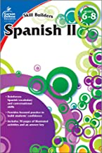 Carson Dellosa – Skill Builders Spanish II Workbook, for Grades 6–8, 80 Pages With Answer Key PDF