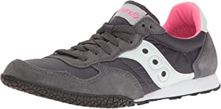 Women's Bullet Fashion Sneaker, Charcoal/Pink, 8.5 M US