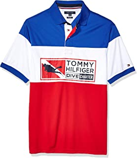 Tommy Hilfiger Men's Big and Tall Polo Shirt Custom Fit