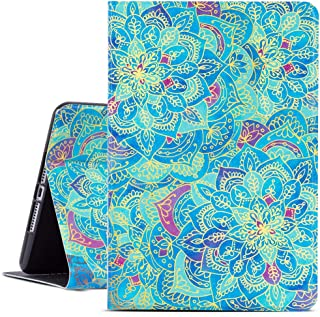 ipad Mini 5 Case, ipad Mini 4 Case, Gofupa ipad 7.9 Inch Case 2015/2019, Soft TPU Back Cover, Bump Drop Resistance Folio Leather Case, Adjustable Stand Auto Wake/Sleep Smart Case(Mandala)