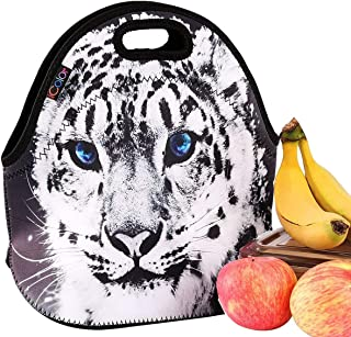 iColor Cute Cheetah Insulated Lunch Tote Bag Cooler Box Neoprene lunchbox Carrying baby bag School/Office Handbag Soft Case HOT