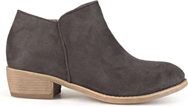 Brinley Co Women's Flare Ankle Boot