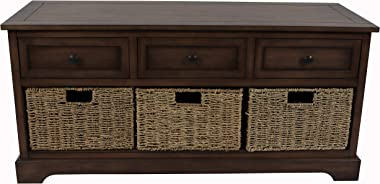 Décor Therapy Montgeomery Bench, British Brown