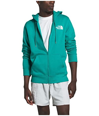 The North Face Half Dome Full Zip Hoodie (Lagoon) Men