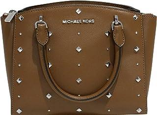 8ffb82914803 MICHAEL Michael Kors Women s ELLIS Small Satchel Studded Leather handbag
