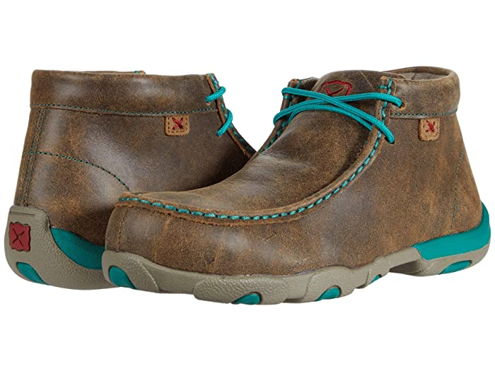 Twisted X  WDMAL01 (Bomber/Turquoise) Womens Shoes