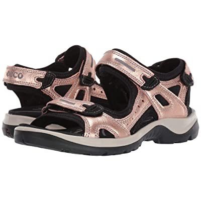 ECCO Offroad Sandal (Muted Clay Metallic) Women