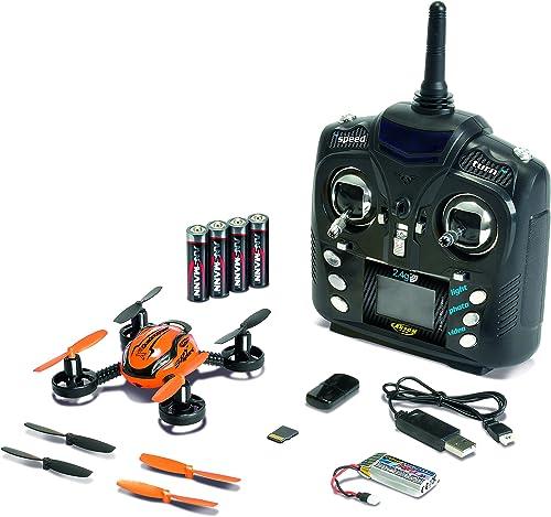 Carson 500507106 - X4 Quadcopter Spy Sport 100% RTF, Orange