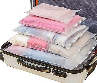 Sistema di Cubo di Viaggio 12 Impermeabile Trasparente Organizzatori di Viaggio Bagagli Beauty Case Organizzatore Perfect ...