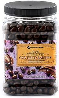 Chocolate Covered Raisins 54 OZ-Members Mark