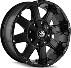 Mayhem Chaos 8030 Matte Black Wheel (18x9