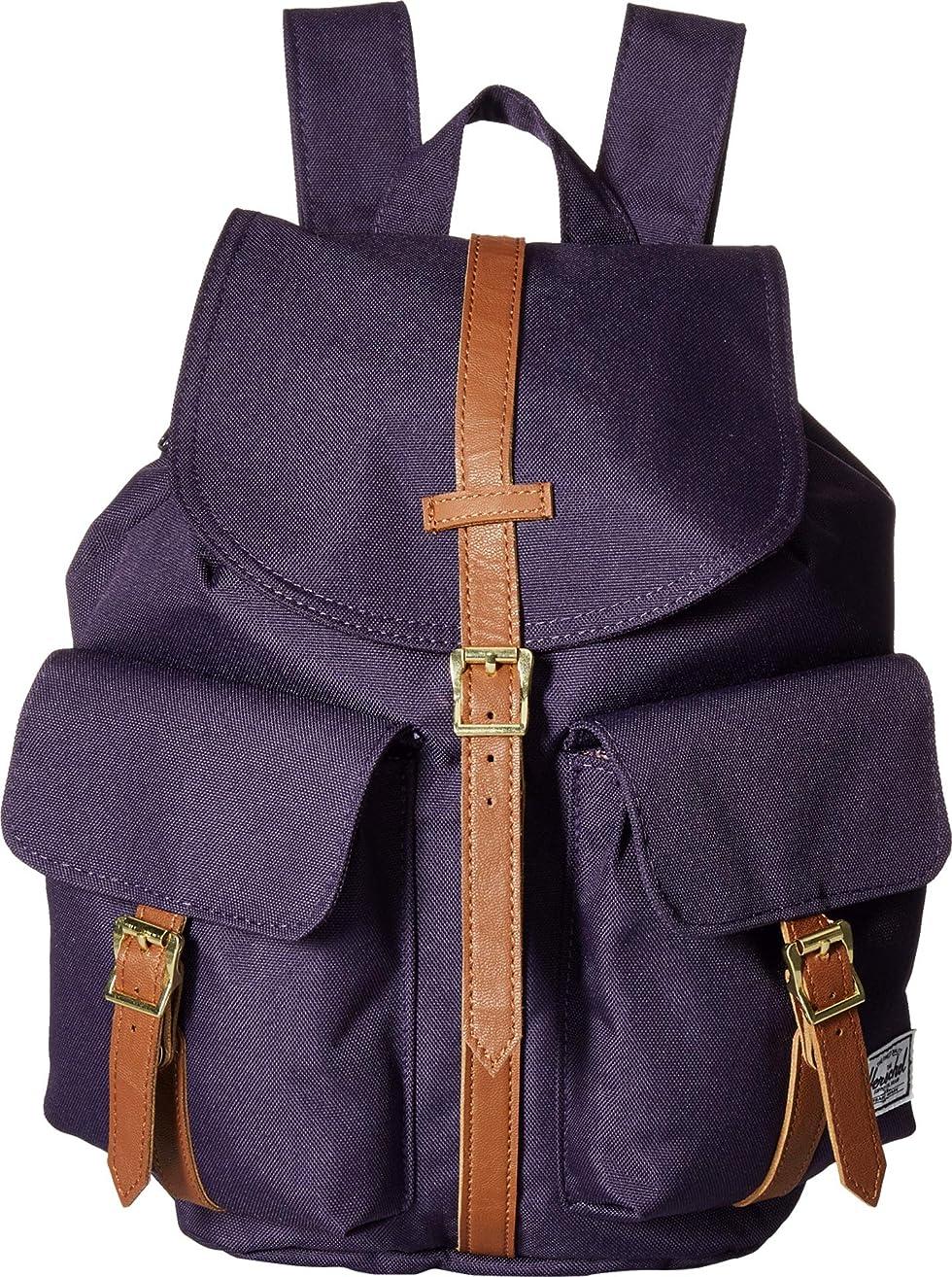 妻付録発音するHerschel Supply Co, 10301 バックパック, Purple Velvet/Tan Synthetic Leather, One Size