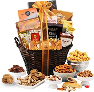 Broadway Basketeers Chocolate & Sweets Christmas Gourmet Gift Basket (Kosher Certified)