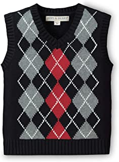 Hope & Henry Boys' V-Neck Sweater Vest