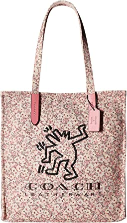 COACH Coach X Keith Haring Tote