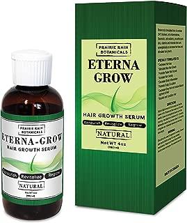 EternaGrow Hair Growth Treatment (Natural) All Natural DHT Blocker and Hair Stimulant Topical Formula