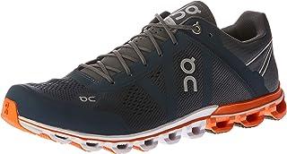 ON Men's Cloudflow Running Shoes, Rock/Orange