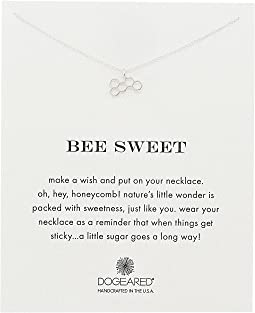 Dogeared - Bee Sweet Honeycomb Reminder Necklace