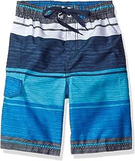 Kanu Surf Boys' Impact Quick Dry Beach Swim Trunk