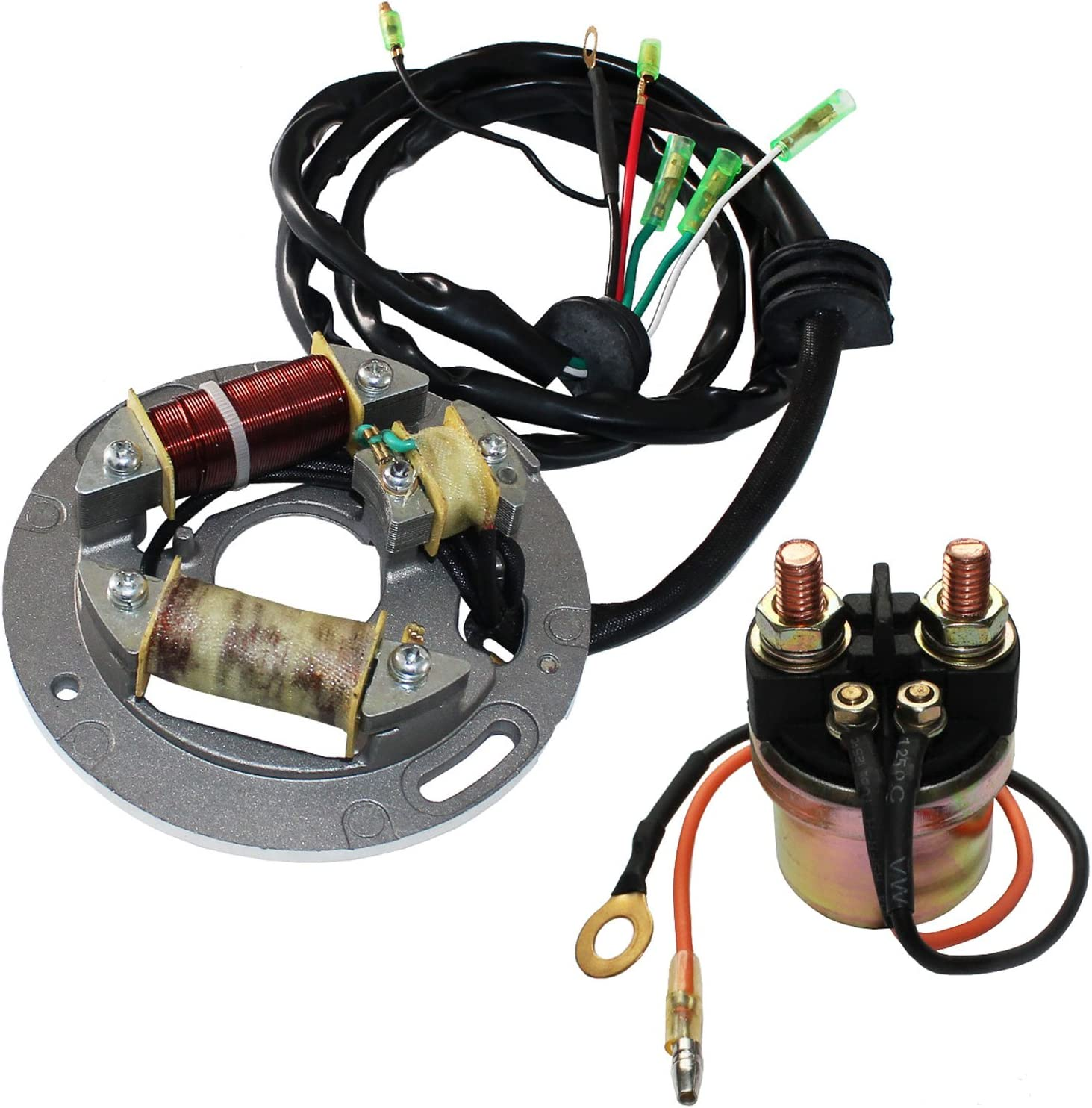 Virginia Beach Mall Caltric Stator Compatible With Yamaha Max 63% OFF Super Sj650 650 Sj-650 Jet