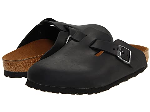 6a8ef0782e Birkenstock Boston - Oiled Leather (Unisex) at Zappos.com