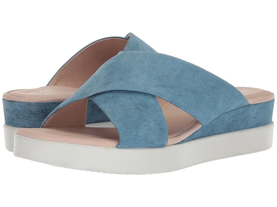ECCO Touch Slide Sandal (Indigo 7) Women