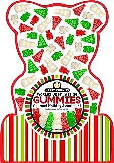 Happy Yummies Worlds Best Tasting Gourmet Gummies Holiday Assortment
