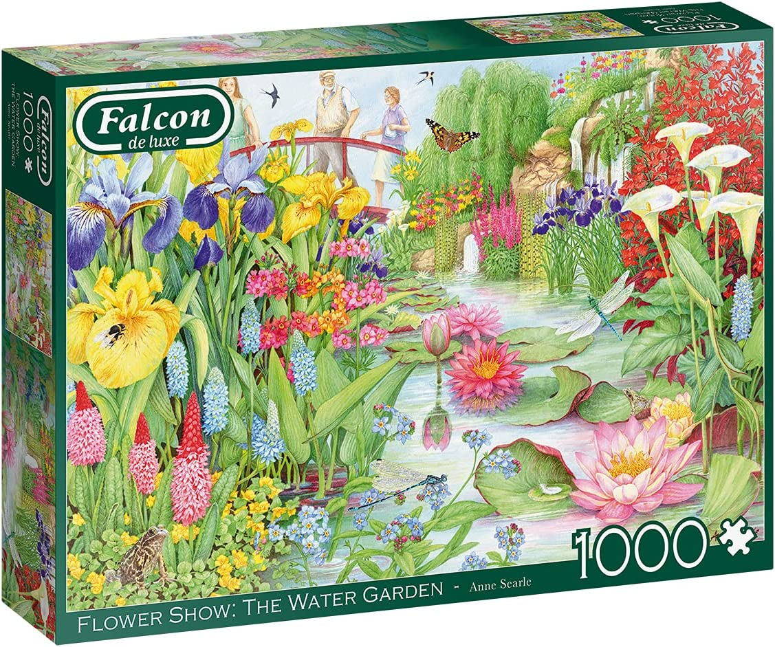 Jumbo Falcon Miami Mall de Luxe - Flower 'The Gardens' Jigsaw Water Show Super Special SALE held