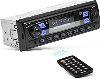 Sound Storm Laboratories ML43B Multimedia Car Stereo - Single Din, MP3 Player, No CD/DVD, Bluetooth Audio and Hands-Free Calling, USB, SD, AUX in, AM/FM Radio, Wireless Remote