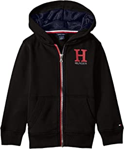 Tommy Hilfiger Kids - Matt Logo Hilfiger Hoodie (Toddler/Little Kids)