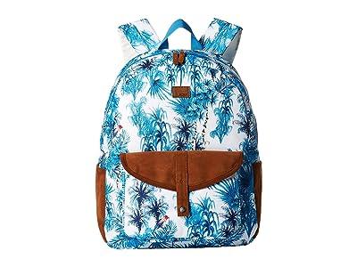 Roxy Caribbean Backpack (Marshmallow Wild Goa) Backpack Bags