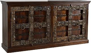 SIT-Möbel 5113–30Aparador ALM irah 180x 45x 90cm Papel Reciclado de Madera Color marrón