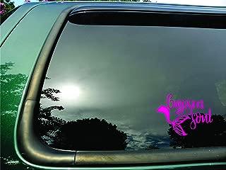 Gypsea Soul Mermaid Tail Pink- Die Cut Vinyl Window Decal/sticker for Car/Truck/Laptop 5.5