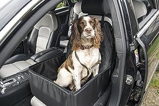 Pet Beds diretto seggiolino auto per cani e animali domestici viaggio carrello//seggiolino auto cintura di sicurezza a medio 32/x 55/x 55 antracite tartan