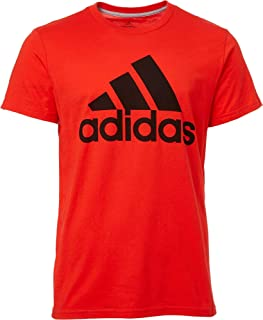 Men's Badge of Sport Classic T-Shirt - Active Red/Black, XX-Large