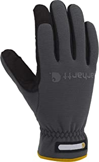 Carhartt Men's Work Flex Spandex Work Glove with Water Repellant Palm