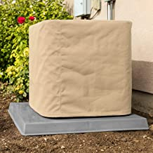 SugarHouse Outdoor Air Conditioner Cover - Premium Marine Canvas - Made in The USA - 7-Year Warranty - 26