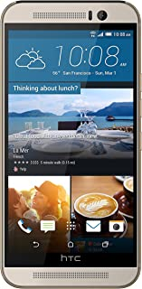 HTC One M9 Unlocked GSM 4G LTE 20MP Camera Smartphone (Silver/Gold)