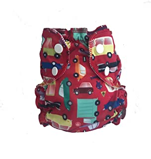 AppleCheeks Washable Swim Diaper (Size 2, I Car!)