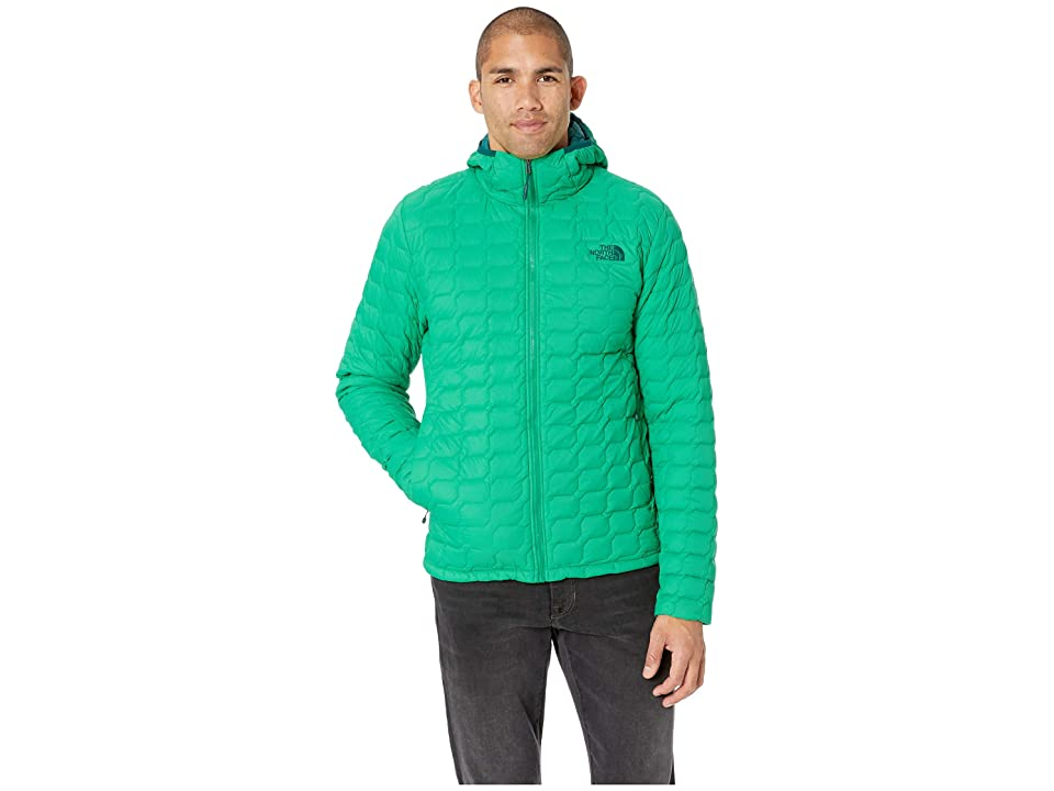 The North Face Thermoball Hoodie (Primary Green Matte) Men