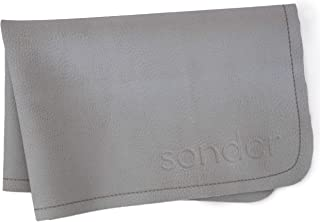 SONDER Leather Baby Changing Mat - Multipurpose Portable Waterproof Diaper Pad - Compact for Travel - Deluxe Leather Diape...